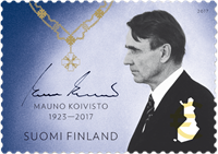 Finland - Mauno Koivisto - Postfrisk frimærke