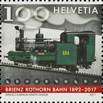 Schweiz - Brienz-Rothorn banen - Postfrisk frimærke