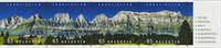 Schweiz - Churfirsten panorama - Postfrisk sæt 4v