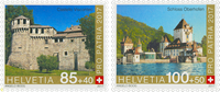 Schweiz - Pro Patria 2017 - Postfrisk sæt 2v