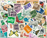 Worldwide - 100 different stamps - Cancelled
