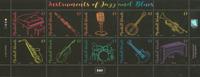 Marshall Islands - Instruments of Jazz - Mint set 10v