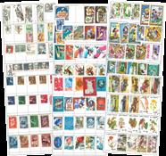 Gehele Wereld - 6 rondzendboekjes met +4000 postzegels