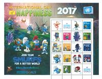 United Nations Vienna - Smurfs sheet * - Mint stamp