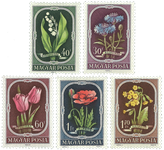Ungarn AFA 1185-89 - Postfrisk