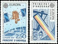 French Andorra YT 402-03