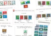 Switzerland - Complete sets etc.
