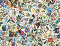 Jersey - Stamp packet - 500 different