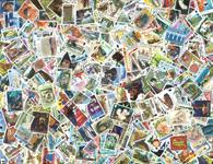 Jersey - Frimærkepakke - 500 forskellige