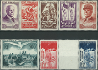 Frankrig samling 1942-75