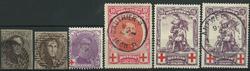 Belgien samling 1849-1960