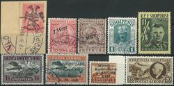 Albanien samling 1913-65