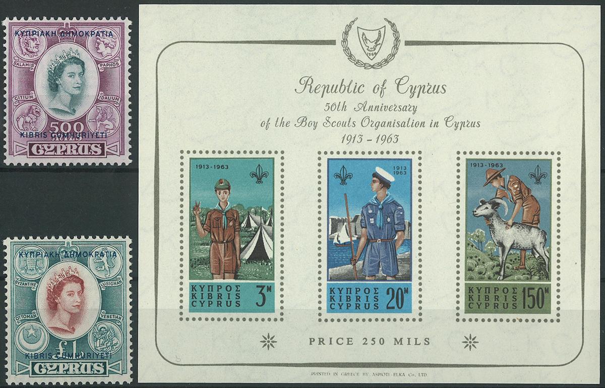 Cypern samling 1960-91