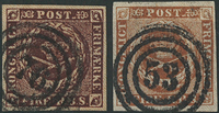 Danmark 1853-54