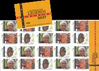 Australien - Legender 2017 - Postfrisk hæfte