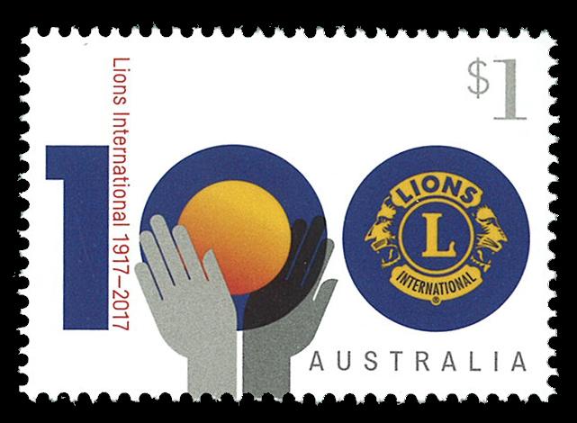 Australien - Lions Club - Postfrisk frimærke