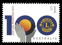 Australia - Lions Club - Mint stamp
