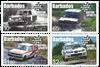 Barbados - Motor Sport - Postfrisk sæt 4v