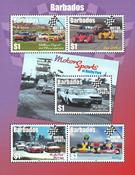 Barbados - Motor Sports 2017 *MS - Souvenir sheet