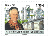 France - Bicentenary Cement - Mint stamp