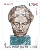 France - Jeanne Bardey - Mint stamp
