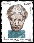 Frankrig - Jeanne Bardey - Postfrisk frimærke