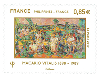 France - Joint issues w/Philippines, Vitalis - Mint stamp
