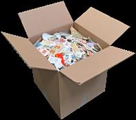 Allemagne/Monde Entier - 9 kg de timbres