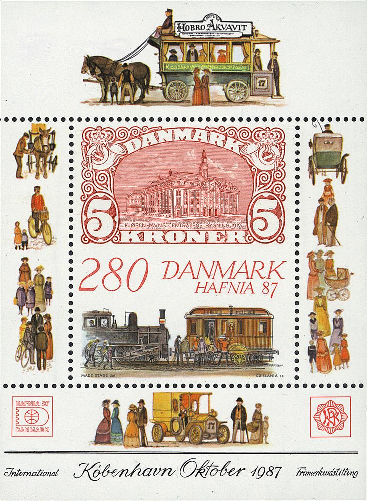 Danmark hafnia miniark IV *