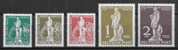 Berlin 1949 - AFA 36+38-41 - mint hinged