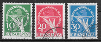 Berlin 1949 - AFA 68-70 - cancelled