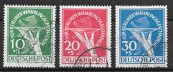 Berlin 1949 - AFA 68-70 - stemplet