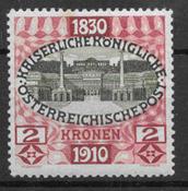 Austria 1910 - AFA 153 - mint hinged