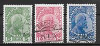 Lichtenstein 1912 - AFA 1-3 - cancelled