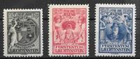Lichtenstein 1932 - AFA 116-118 - mint hinged
