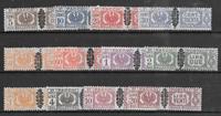 Italy 1945 - Pak AFA 36-47 - mint hinged