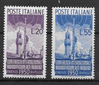 Italy 1950 - AFA 716-717 - mint hinged