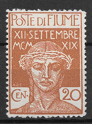 FIUME 1920 - AFA 112 - mint not hinged