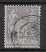 France 1877 - AFA 84 - cancelled