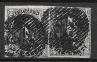 Belgium 1849 - AFA 3a par - cancelled