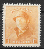 Belgium 1919 - AFA  154 - mint not hinged