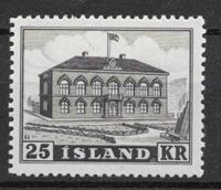 Iceland  1952 - AFA 278 - mint not hinged