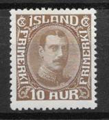 Iceland  1931 - AFA 161 - mint not hinged