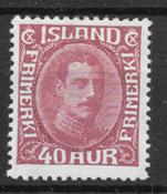 Iceland  1931 - AFA 163 - mint not hinged