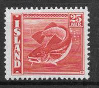 Iceland  1940 - AFA  217 - mint not hinged