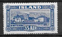 Iceland  1925 - AFA 117 - mint not hinged