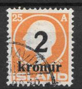 Iceland  1926 - AFA 120 - cancelled