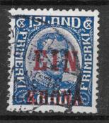 Iceland  1926 - AFA 121 - cancelled