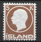 Iceland  1912 - AFA 75 - mint not hinged