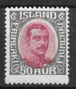 Iceland  1920 - AFA 95 - mint not hinged